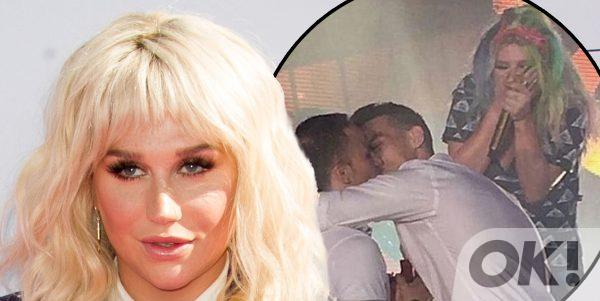 Kesha has helped a fan propose in the best way: