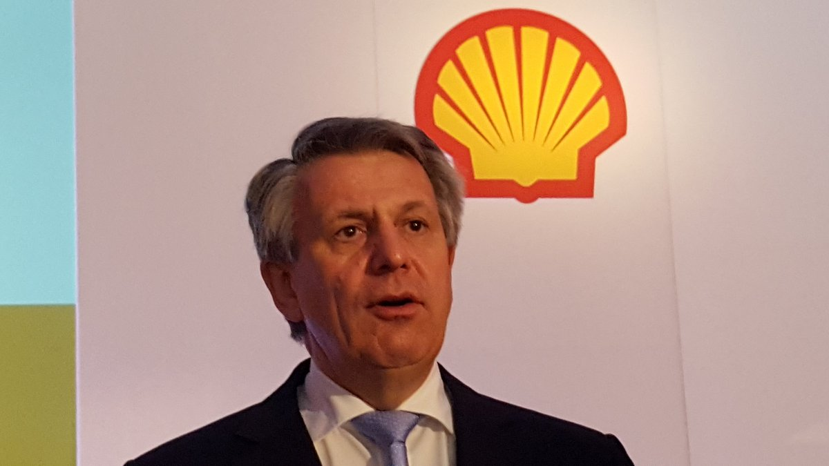 Shell CEO Ben van Beurden says Shell sees 'at least $10bn more value' in BG than when it bought the UK gas giant. https://t.co/4jmofXl5sy