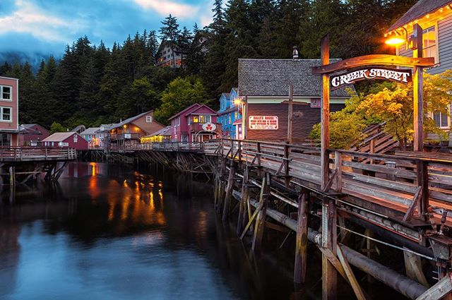Have camera, will travel for unmarked trails. Ketchikan from our WeekendWanderer's POV »