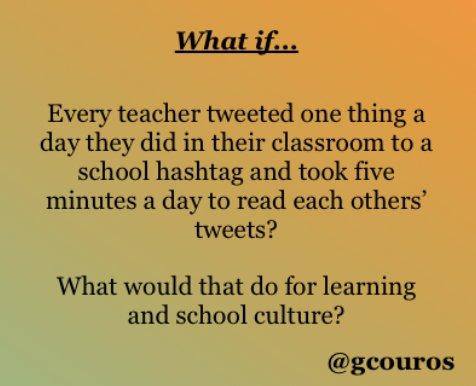 6 Ways to Use Twitter for School Professional Learning https://t.co/ZSeDUKIvzJ #nt2t #catholicedchat @gcouros https://t.co/hN1f6XzF9J