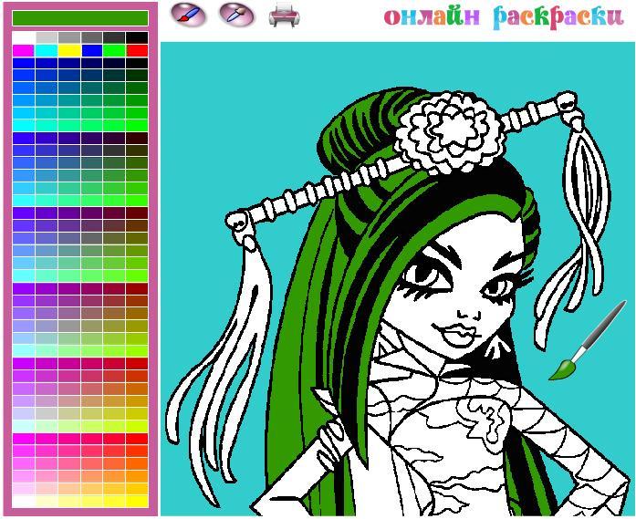 Сайт онлайн раскрасок