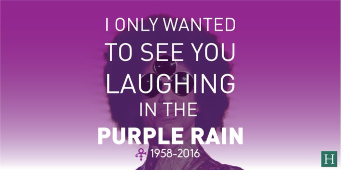 Happy birthday, Prince! Reflect on his legacy, sing his songs and dance in the rain to honor the late legend. <3