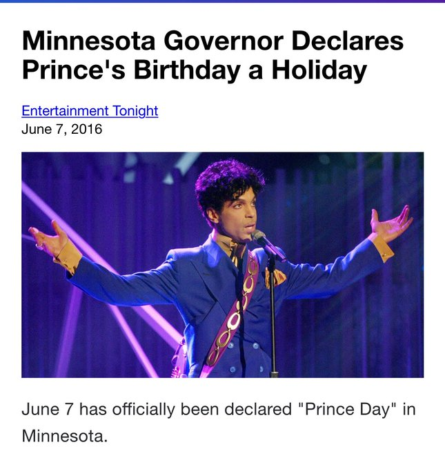 When the elevator tries to take you down  Punch a higher floor! Happy birthday, Prince.