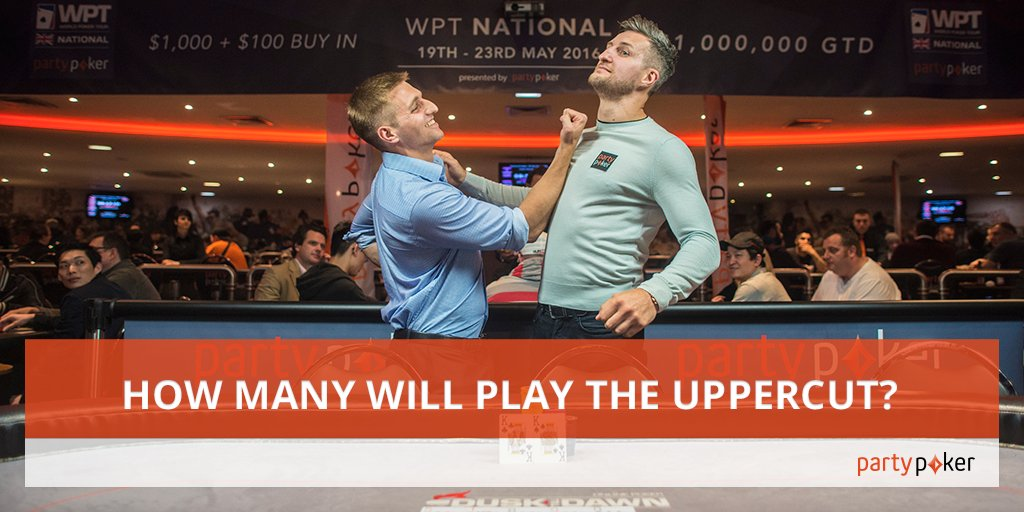 Retweet, have 1 guess at the total entries in the Uppercut before 2030 CET and the closest wins a $109 ticket! https://t.co/UKgcahMr3t
