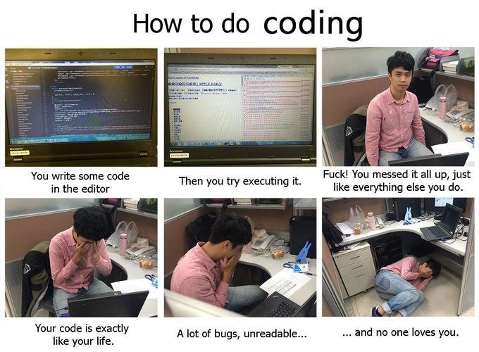 How to do coding. https://t.co/Vh6s9oXIy2