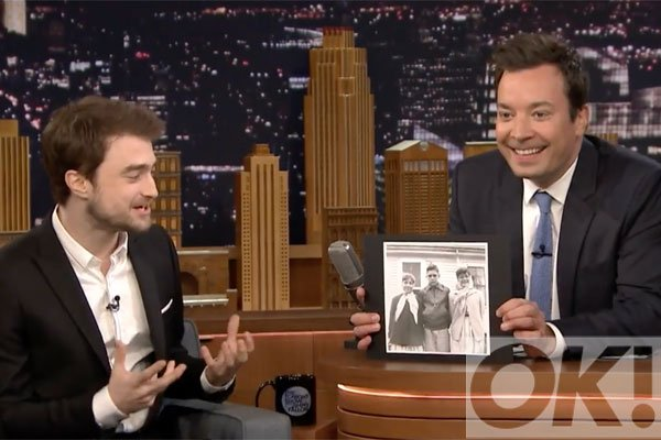 Watch Harry Potter star Daniel Radcliffe find out that he looks like a