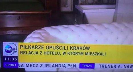 """o, @tvn24 postanowił przebić sam siebie i słynne """"piłkarze zjedli śniadanie"""". szacun. https://t.co/oP7H7K56s4"""