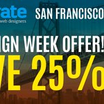 Tomorrow's the last day of #SFDW don't miss your chance to get 25% off #generateconf https://t.co/piWlmlyY2x https://t.co/XWO5uFwpCu