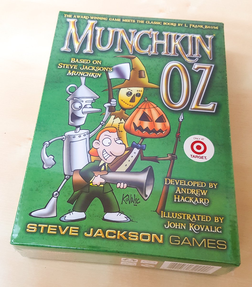 Want to win a copy of #MunchkinOz? Follow, RT and reply with your wish for the Wizard for a chance to win! -HS https://t.co/2RPnyx8y0g