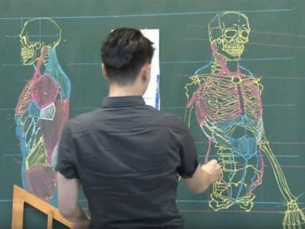 Преподала урок анатомии 13 фотография