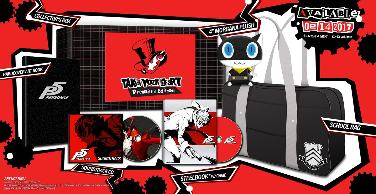 Let us take your heart on Valentine's Day with Persona 5.  Pre-order your copy today! https://t.co/wE6s7jO452 https://t.co/RHMf7y67Yn