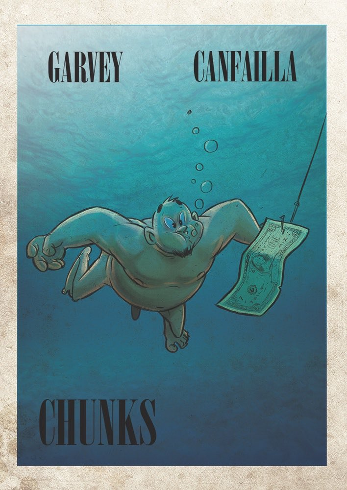 Don't forget, CHUNKS #2 is up on @comiXology TOMORROW! 69p/99cents! Come on, it's practically stealing!