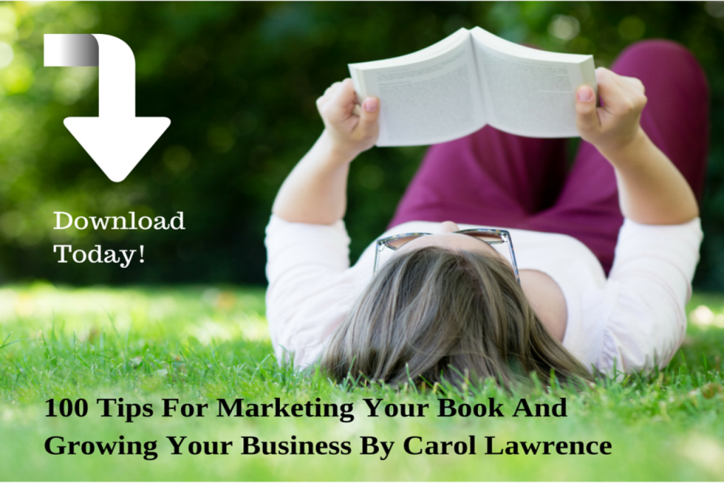 100 Tips For #Marketing Your Book And Growing Your Business. https://t.co/J5FXvt0jJu #selfpublishing #authortips https://t.co/WzU3umQCo2