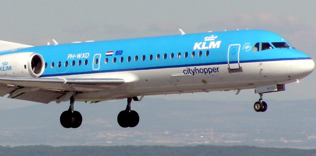 KLM phasing out last Fokker plane next