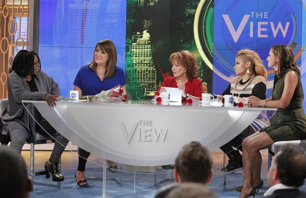 Oops! If there was ever a doubt, Whoopi Goldberg has proved The View is live.