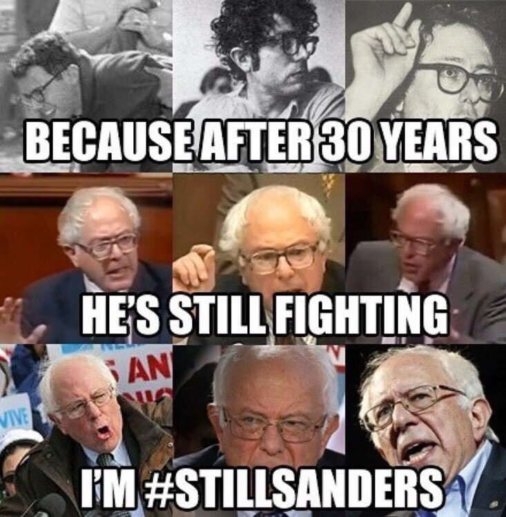#ThankYouBernie for never stopping your fight for the people. https://t.co/XZzGcl7dUS