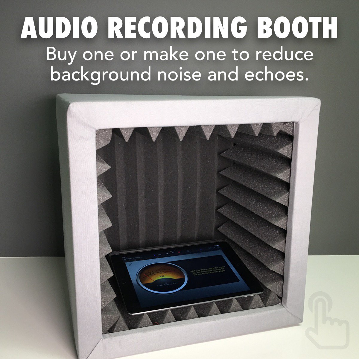 Classrooms are noisy places for audio recording. Here's a way to cut down the background noise…  #AETC2016 ' https://t.co/Va6fy2bw53 #feedly