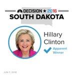 BREAKING: Clinton is the apparent winner in South Dakota Dem primary https://t.co/M37VEXhG1C #Decision2016 https://t.co/roqRKZLmyb