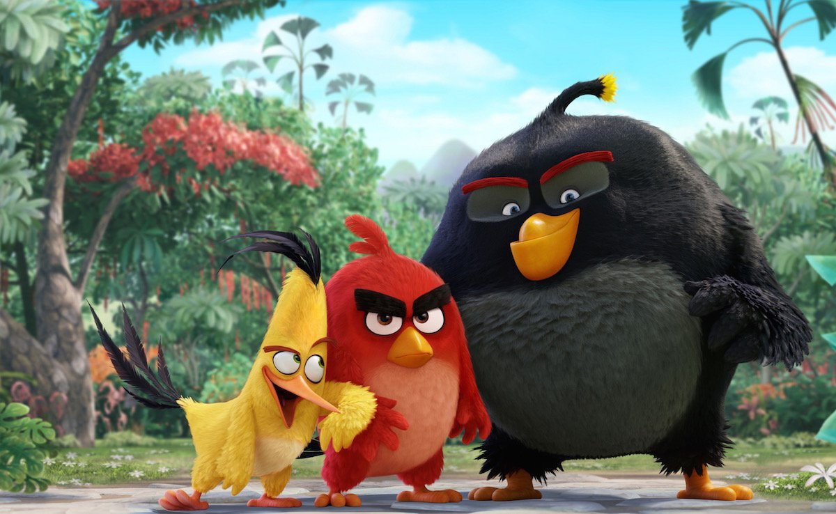 Angry Birds ($312 млн)— вторая посборам экранизация видеоигры. Больше только у«Принца Персии» ($330 млн) https://t.co/olmfAyNh1P