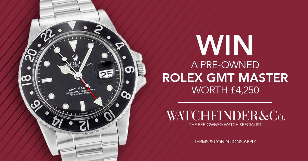 Would YOU like to WIN a ROLEX GMT MASTER? Enter our new comp & share to increase your odds! https://t.co/ap5DX1511g https://t.co/ztGTCzloIm