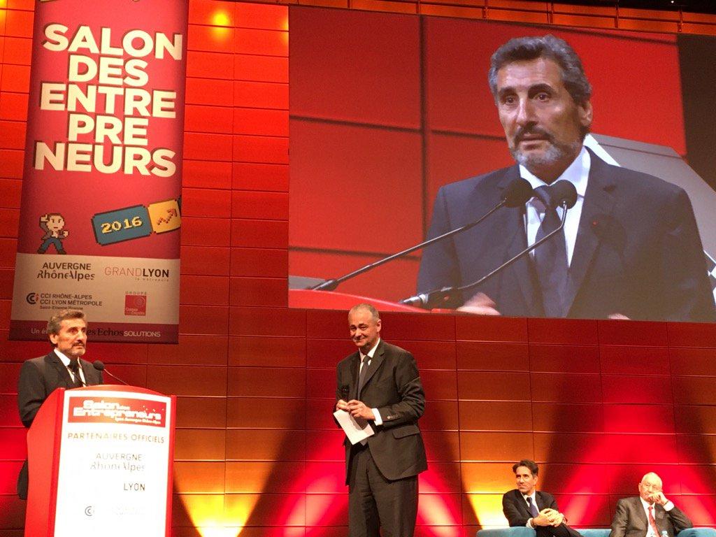 """""""La création d'entreprise, c'est d'abord une aventure humaine"""", Mohed Altrad, pdt AFE #SalonEntrepreneurs Lyon https://t.co/WGXVoGH6jT"""