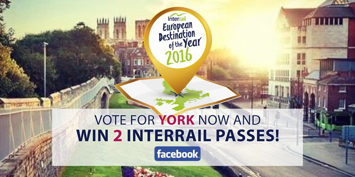 If you love #York, help this wonderful city win European Destination of 2016; Vote & Share! https://t.co/O8tOl90SAt https://t.co/UrGikayoxf