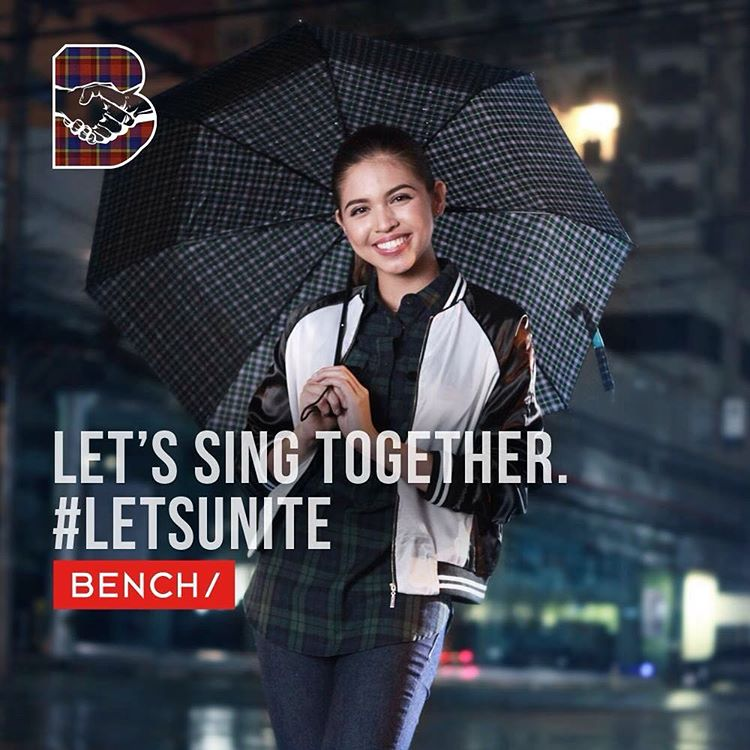 Maine Mendoza (@mainedcm), actress, sees music as an instrument that can bring people together. #LetsUnite https://t.co/HNZOye7bJu
