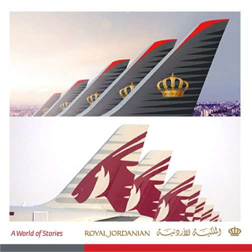 RJ & @qatarairways have announced an expansion of their current code-share agreement.
