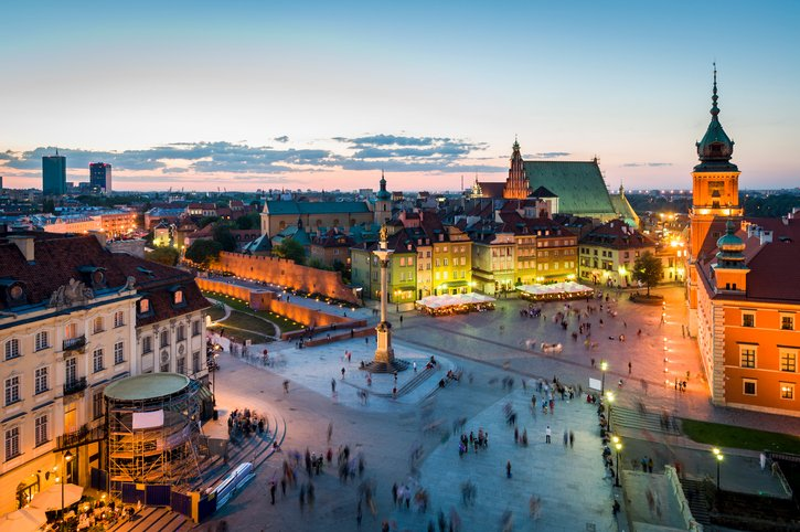 Hello Warsaw! Our summer expansion continues in Poland. @TorontoPearson @ChopinAirport