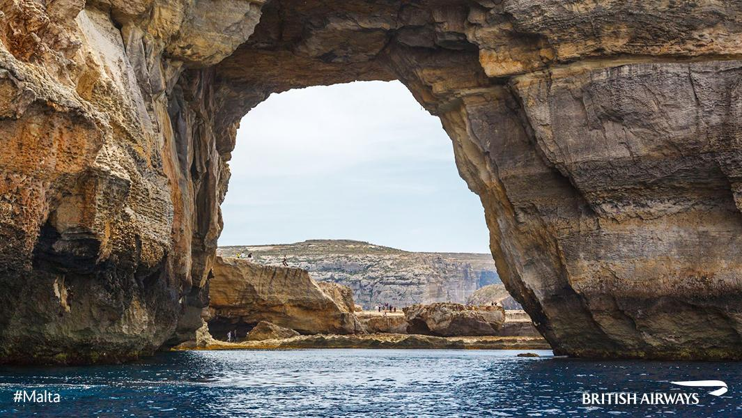 We could look through Gozo's Azure Window all day. Discover