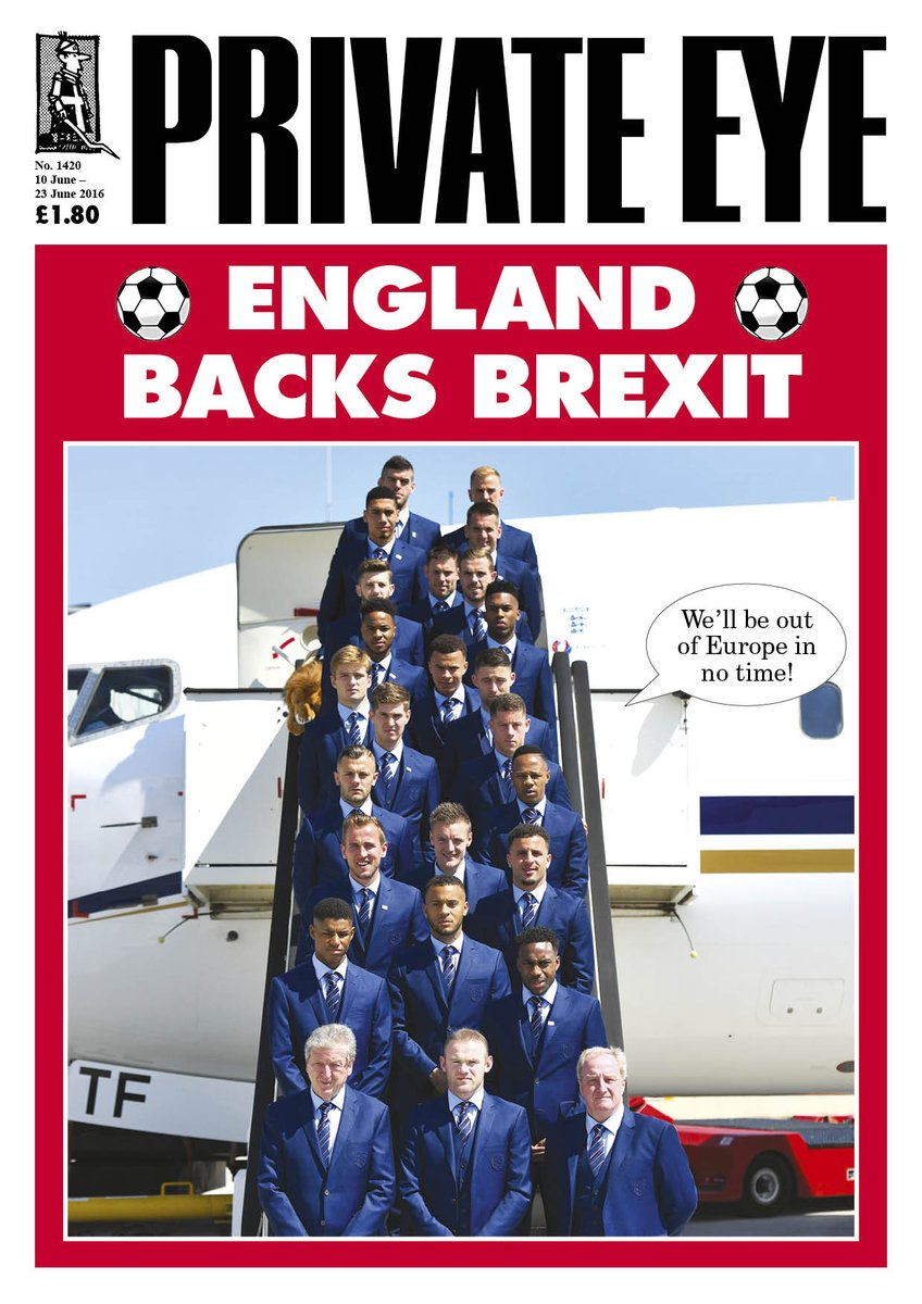 """""""We'll be out of Europe in no time!"""" Eye 1420, arriving in shops and with subscribers now. https://t.co/YaV3dZmWvB"""