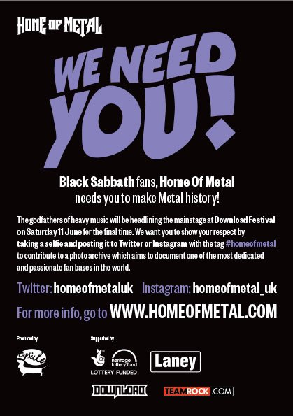 Excited to anounce @homeofmetaluk is launching a new project funded by @HLFWestMids https://t.co/K7tDvUxzka https://t.co/Np4AYiCXxc