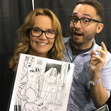 Lea Thompson makes her Marvel Comics debut in 'Howard the Duck' comic