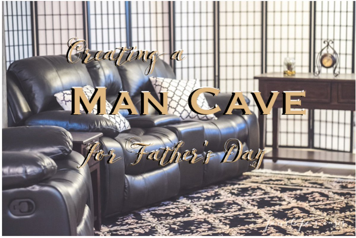 The Man Cave - THE Perfect Father's Day Gift from @raymourflanigan AD #FathersDay https://t.co/xuadlsnsvs https://t.co/8Nzhyu0r06