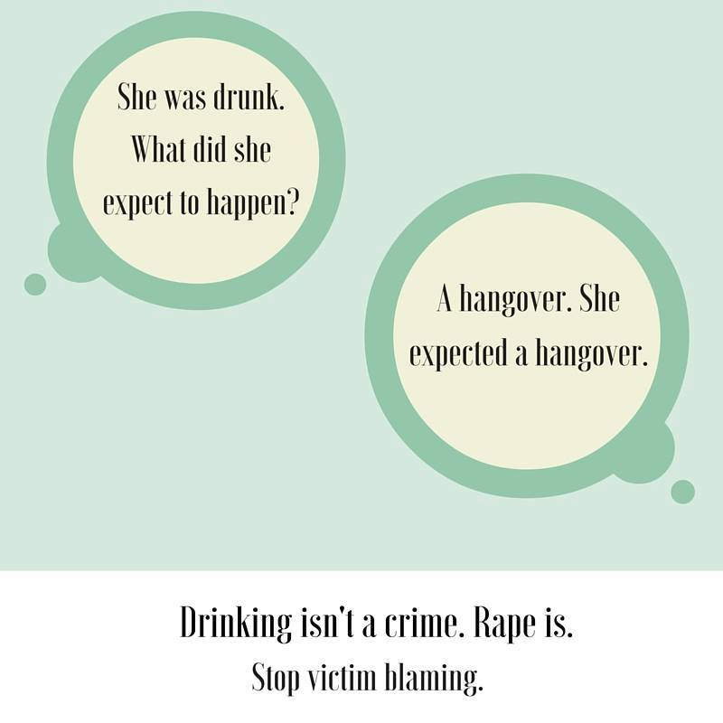 """""""She was drunk. What did she expect...? """" A hangover. She expected a hangover. https://t.co/t806AkmI7f"""