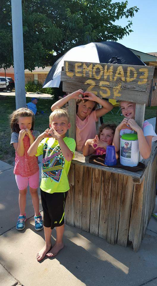 Nine-year-old raises $500 through lemonade stand to help pay for brother's heart surgery https://t.co/Aw4jV5CQBl https://t.co/6lBvMFICka