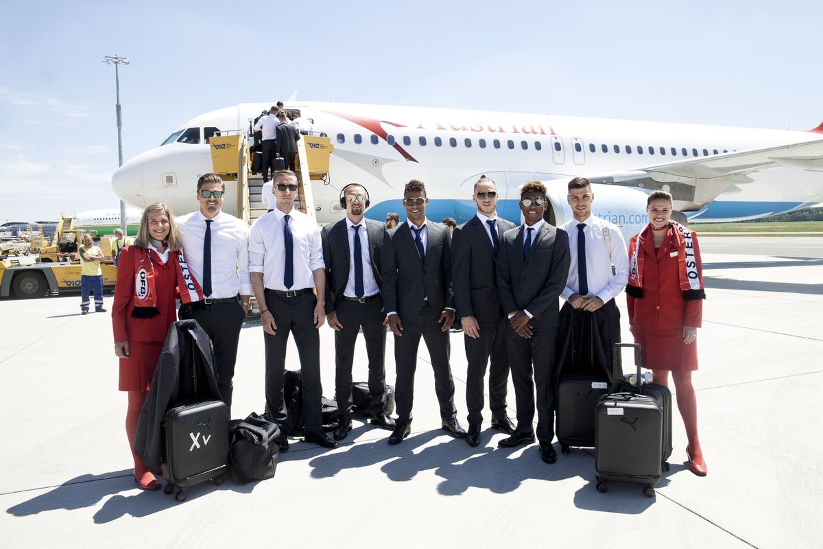Away We Go! Austrian National Football Team Took Off for France!