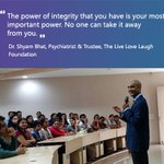 RT @TLLLFoundation: An excerpt from the Q&A session on mental health with @shyambhat at @SSMCBengaluru #YouAreNotAlone https://t.co/CnqwbOY…