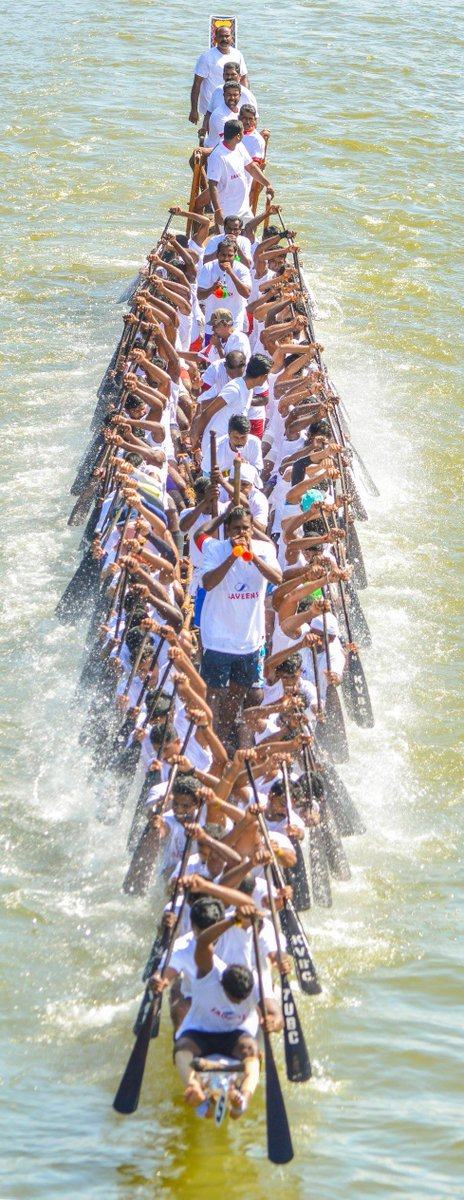 Join the pavilion of excited boat race enthusiasts in August, to enjoy #Vallamkali in Kerala. https://t.co/k5BefeEQWl