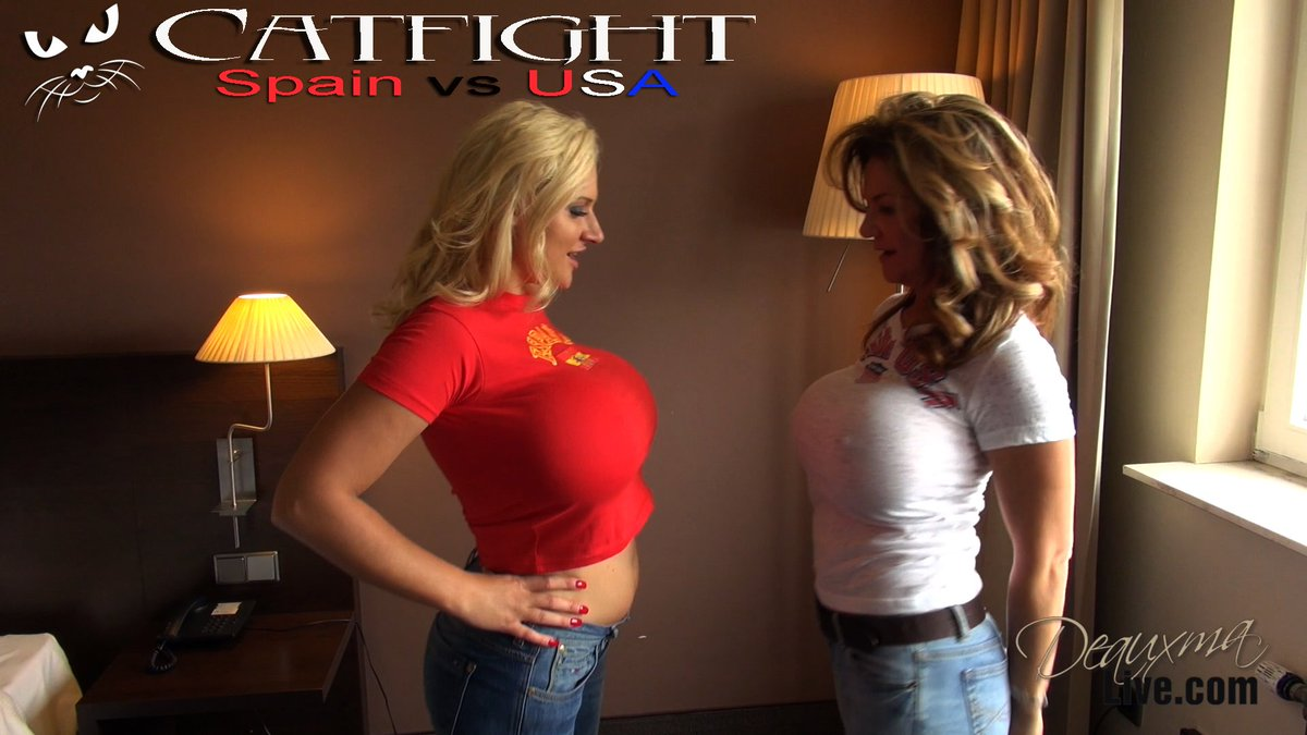 New catfight Clip added to my Store 8fpzIC6axY and I, Spain vs USA Bust