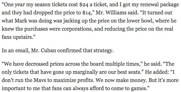 This is why Mark Cuban is a good owner. https://t.co/aH32PlqlBh https://t.co/TTLj52LJPH