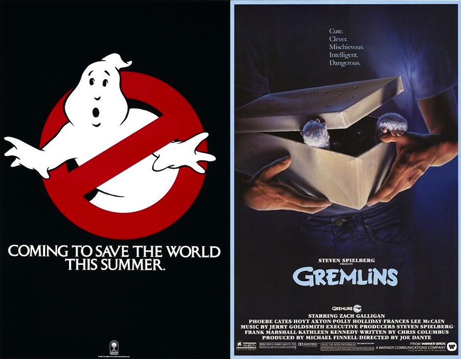 On this day in 1984, 32 yrs ago, both Gremlins & Ghostbusters were released in theaters. #80s https://t.co/YHT1kaU09T