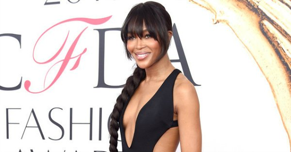 Naomi Campbell steals the show in this Brandon Maxwell gown: