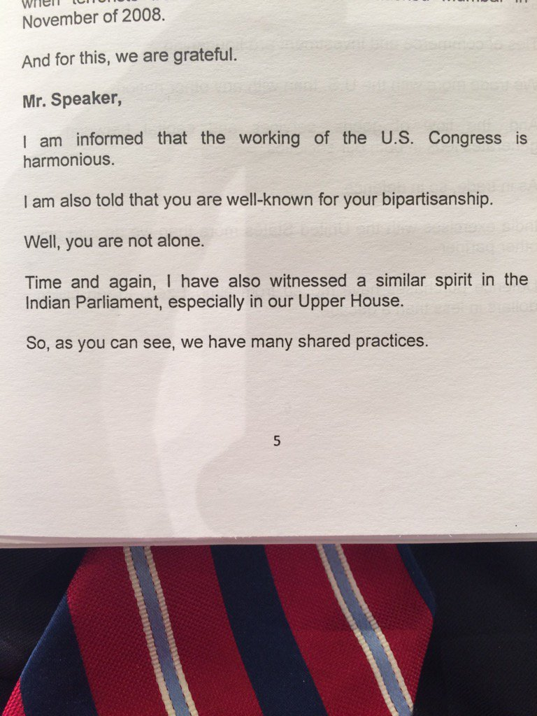 PM Modi gets a big laugh from the US Congress with these lines. @narendramodi https://t.co/eMlKfA74gT