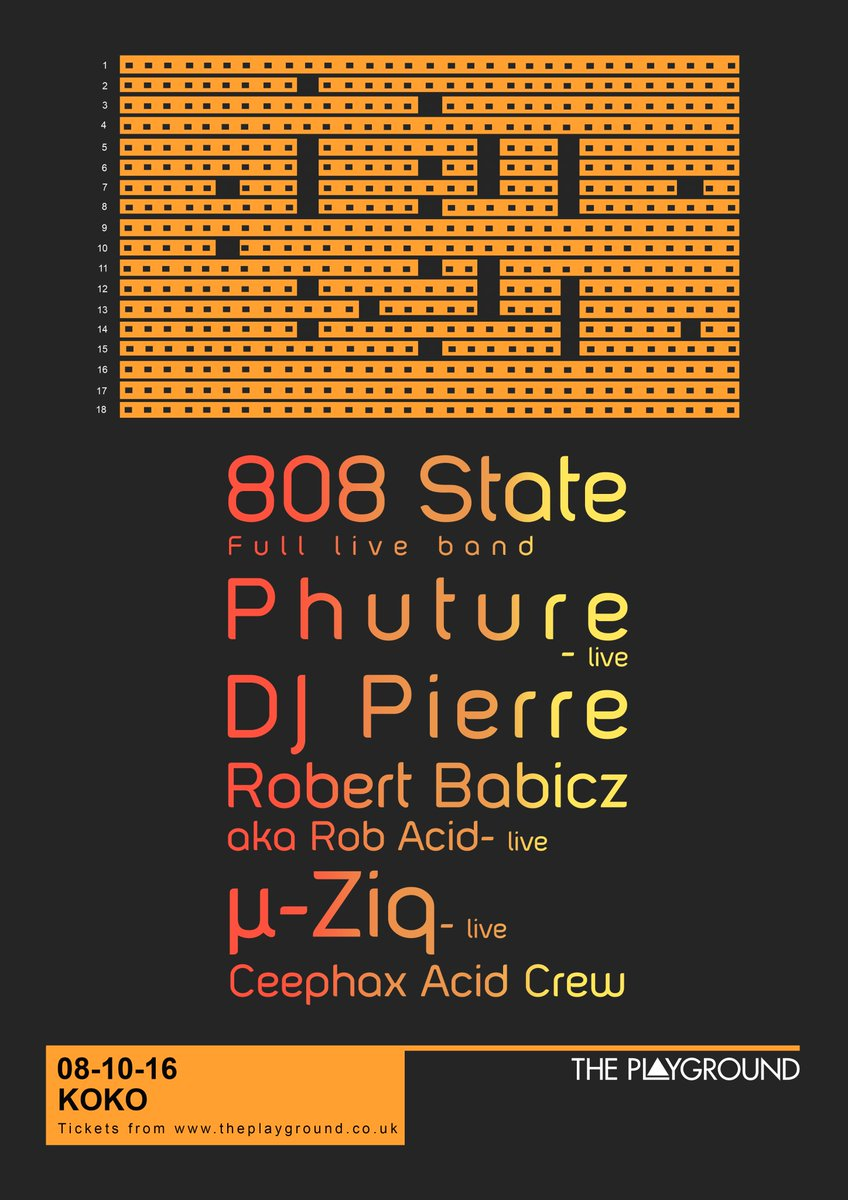 JUST ANNOUNCED: @state808 + @WeArePhuture + @djpierre + @robertbabicz + @MikeParadinas @KOKOLondon 8/010/16 https://t.co/BzNiO3VlAr