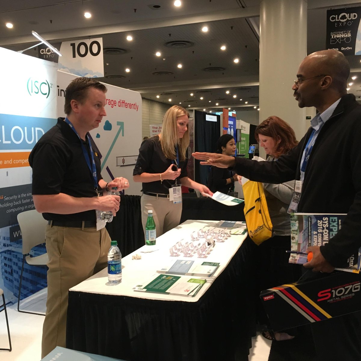 Stop by #ISC2 Booth 232 @CloudExpo NYC to say hi and learn about #CCSP https://t.co/qK9akRZfu5