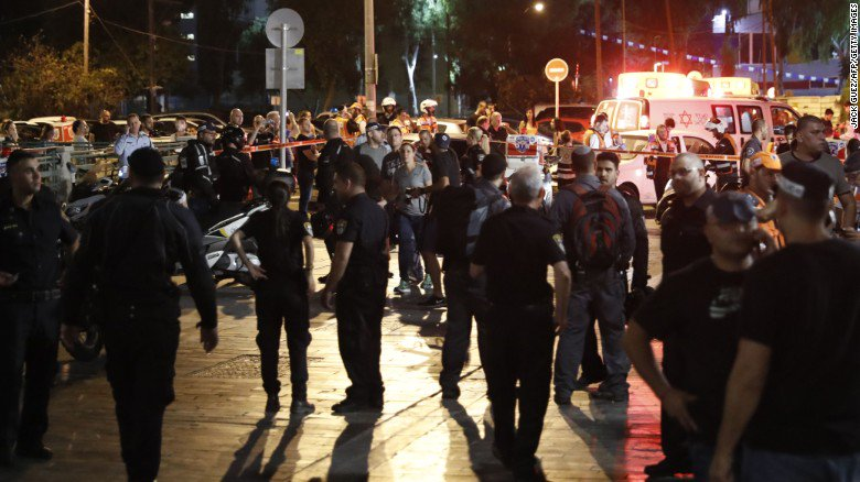 The Tel Aviv shooting occurred in or near Sarona market, an open-air entertainment district