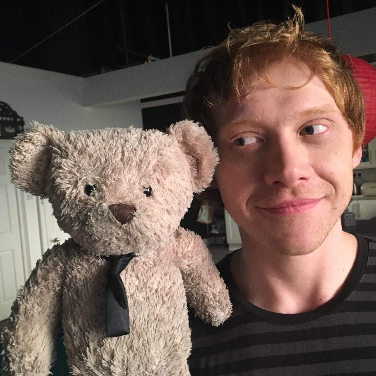 Hanging out on set of new @skyatlantic comedy #SickNote. Hoping #RupertGrint will be my new BFF. https://t.co/iiGg4GsI0Q