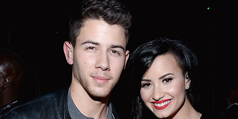 Nick Jonas, Demi Lovato on