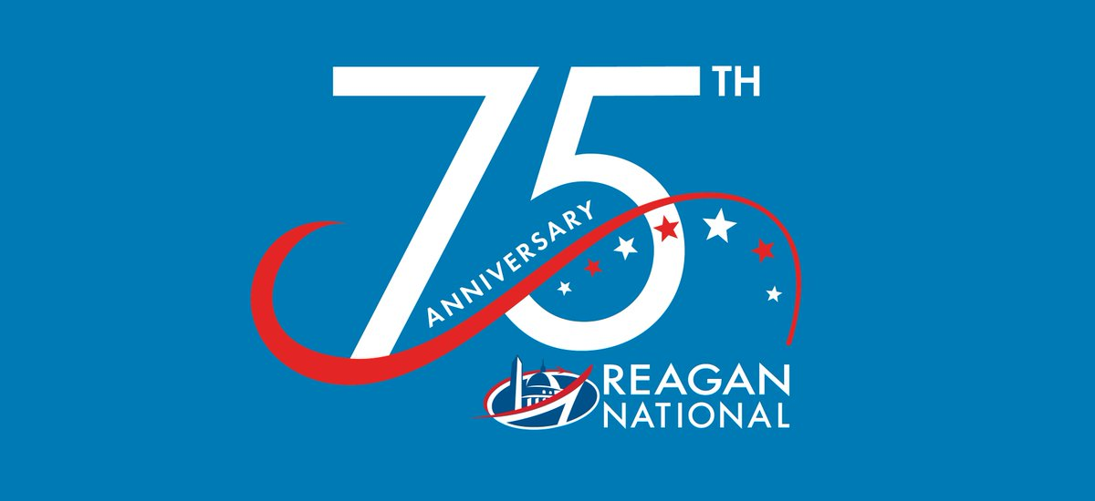 DidYouKnow that the ReaganNational75 anniversary is June 16? Go to for events.